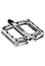 Deity Components Deity TMAC Pedals: Platinum/Laser Graphics