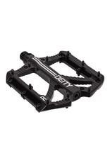 Deity Components Deity Bladerunner Pedals: Black/Laser Graphics