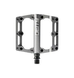 Deity Components Deity Black Kat Pedals: Platinum/Laser Graphics