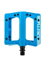 Deity Components Deity Compound Pedals: Blue/White Graphics