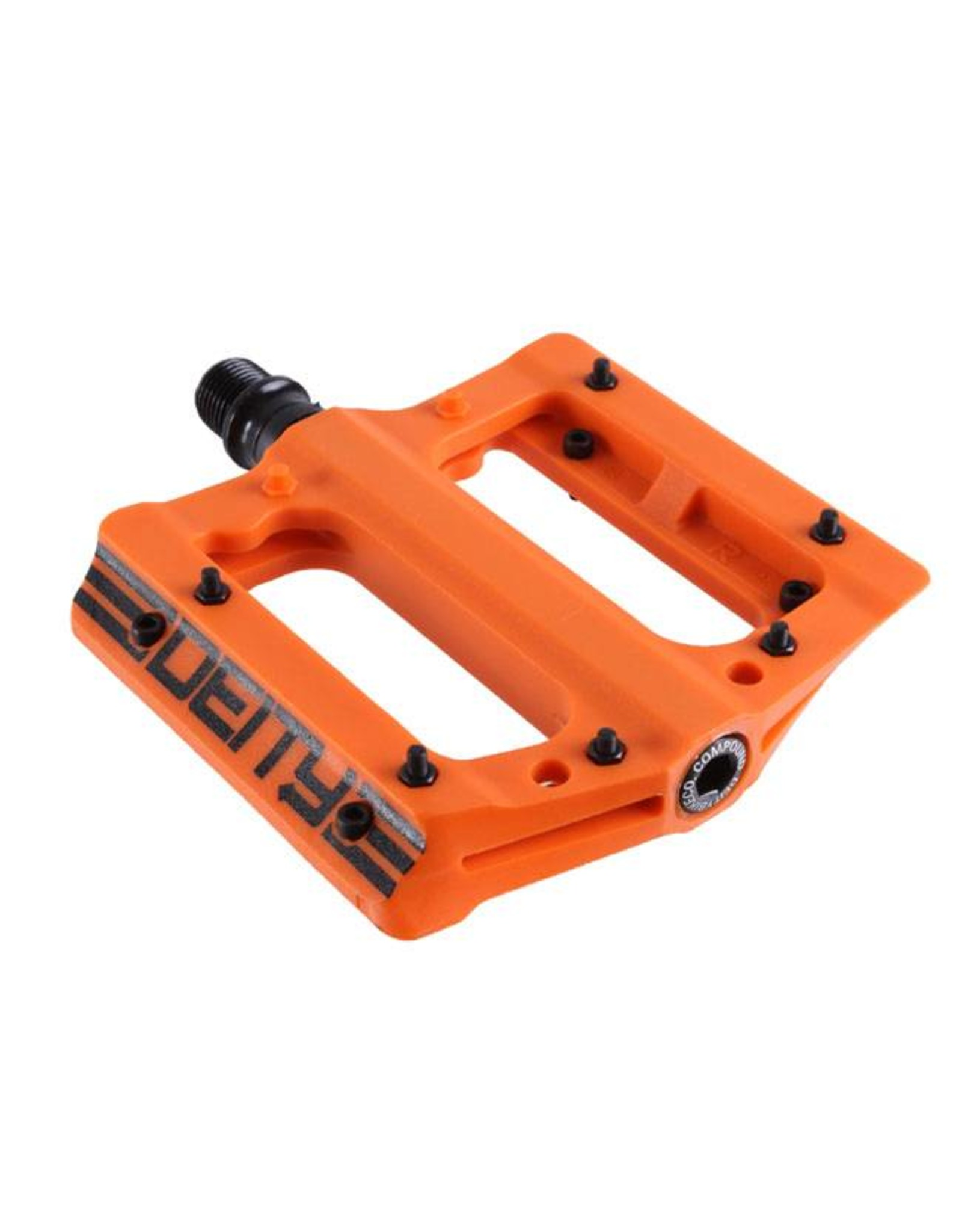 Deity Components Deity Compound Pedals: Orange/Black Graphics