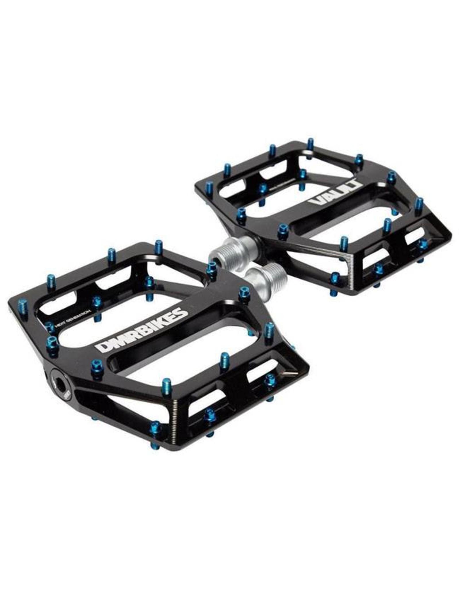 """DMR DMR Vault Pedals, 9/16"""" Alloy Platform Black"""