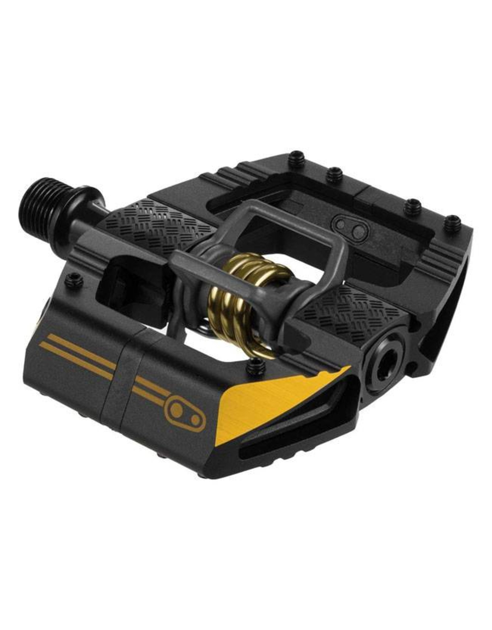 Crank Brothers Crank Brothers Mallet Enduro 11 Pedals: Black/Gold