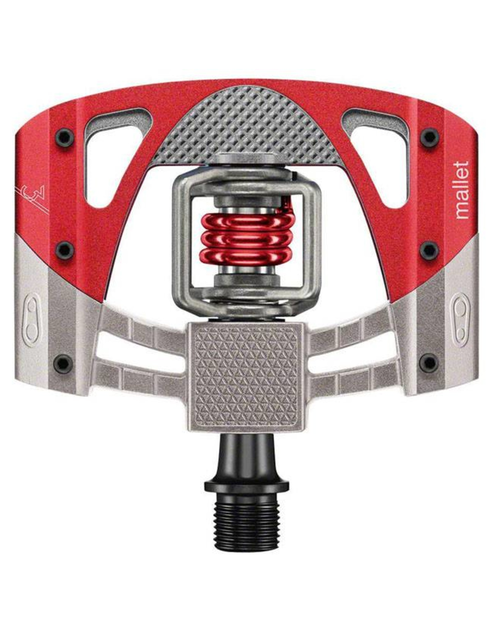 Crank Brothers Crank Brothers  Mallet 3 Pedals: Raw/Red