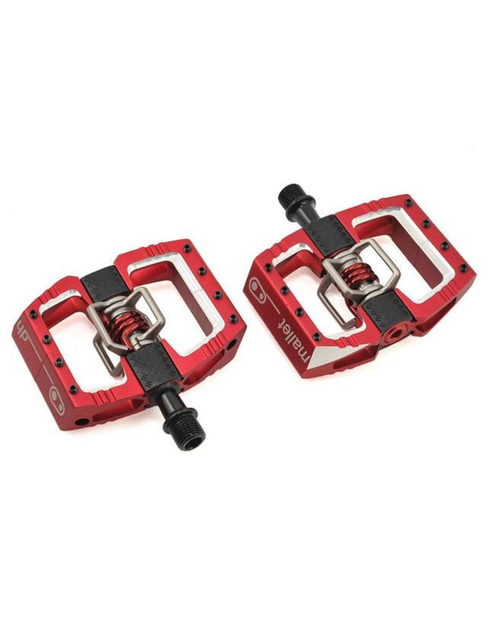 Crank Brothers Crank Brothers Mallet DH Pedals: Red