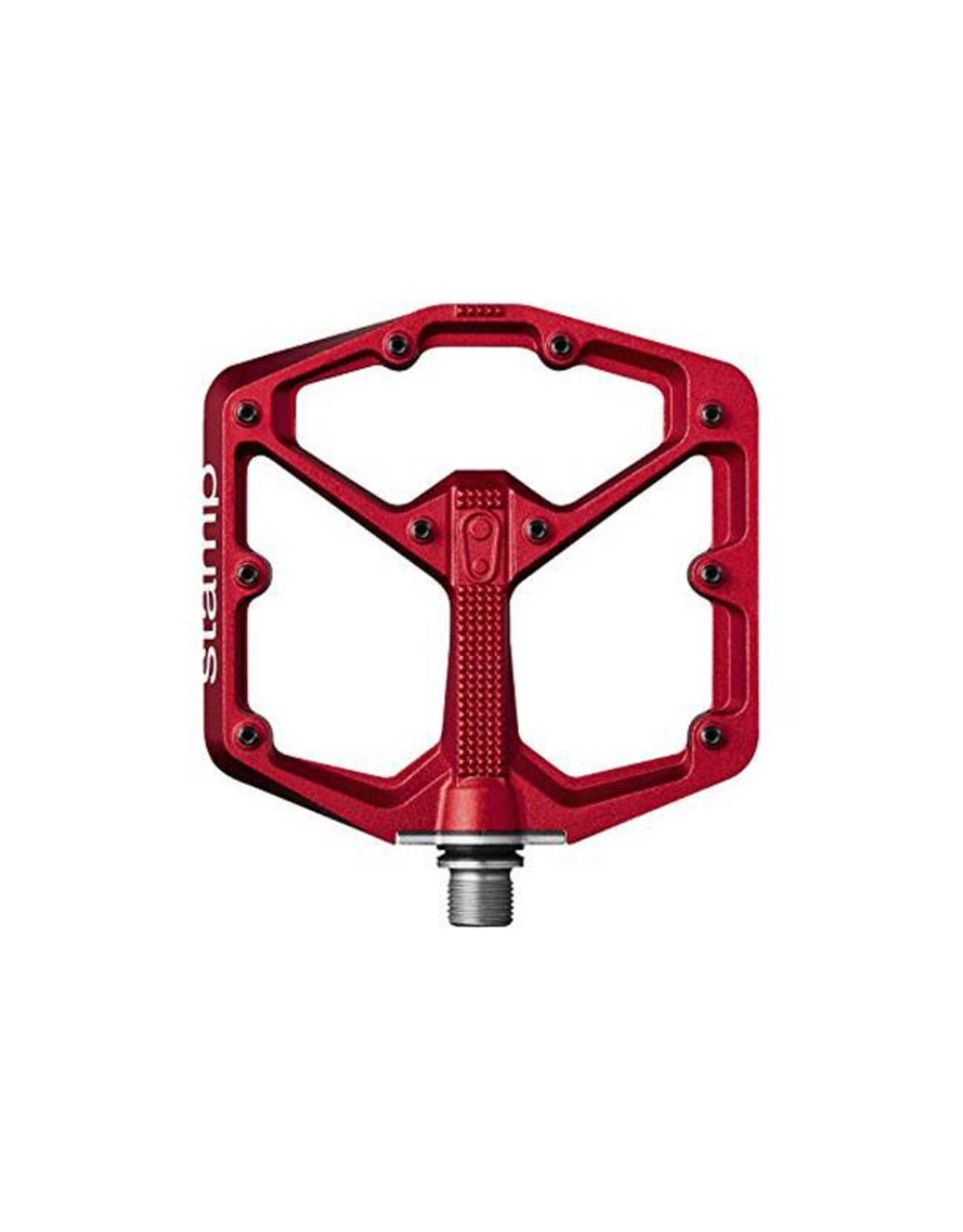 Crank Brothers Crank Brothers Stamp 7 Large Pedals: Red