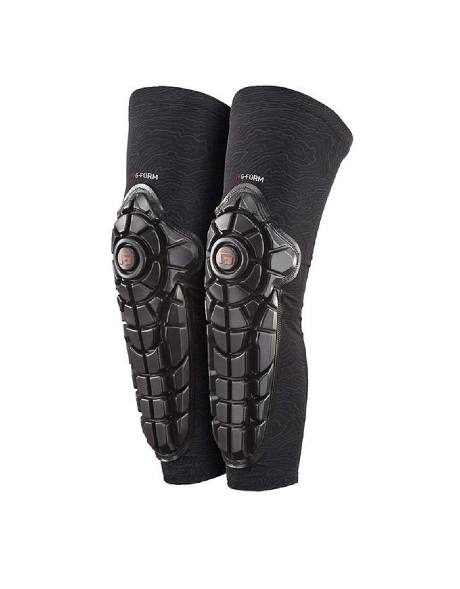 G-Form G-Form Elite Knee-Shin Pad: Black/Topo, MD