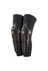 G-Form G-Form Elite Knee-Shin Youth Pad: Black/Topo, LG/XL