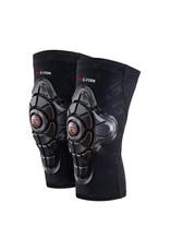 G-Form G-Form Pro-X Knee Pad: Black/Embossed G, MD