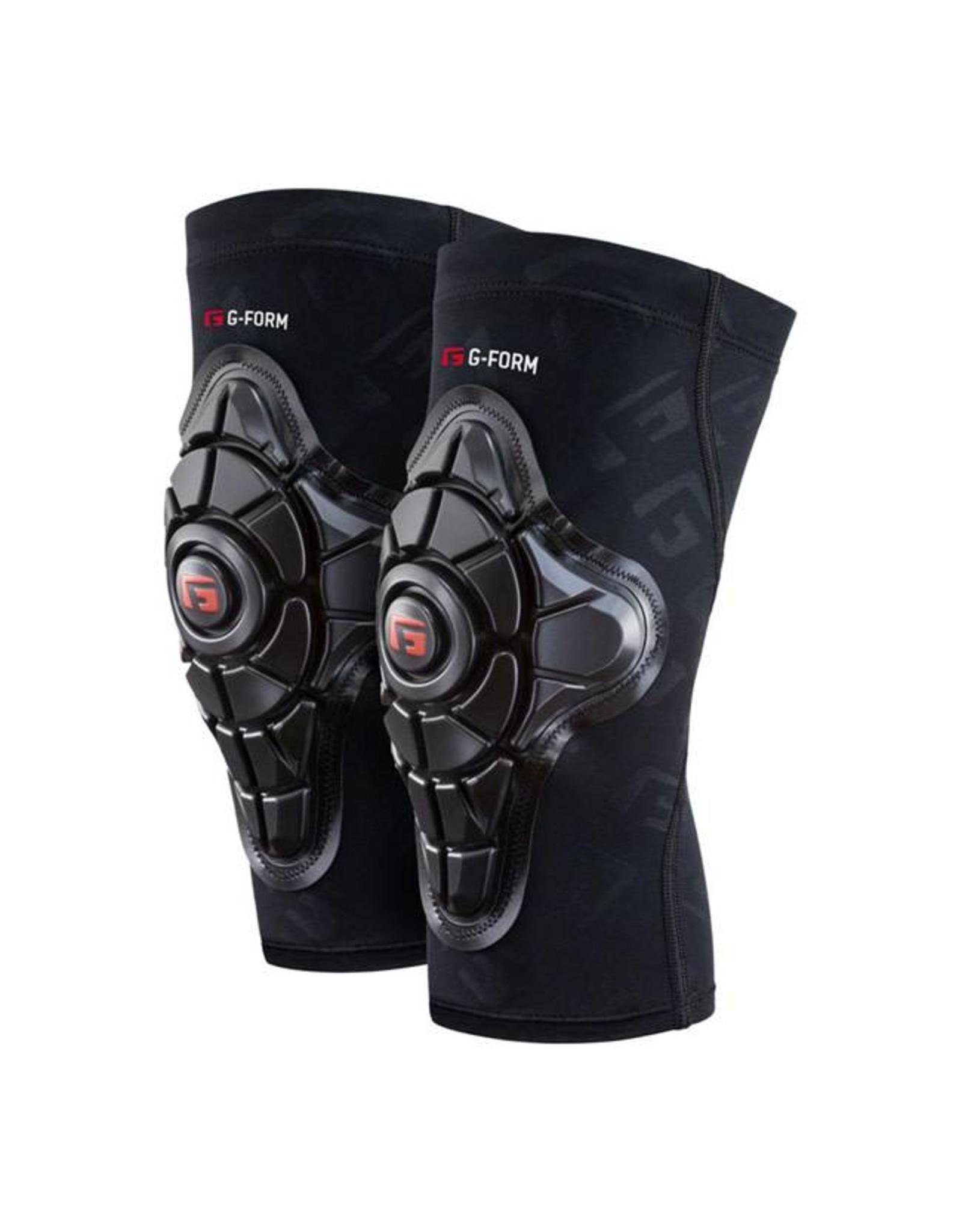 G-Form G-Form Pro-X Knee Pad: Black/Embossed G, 2XL