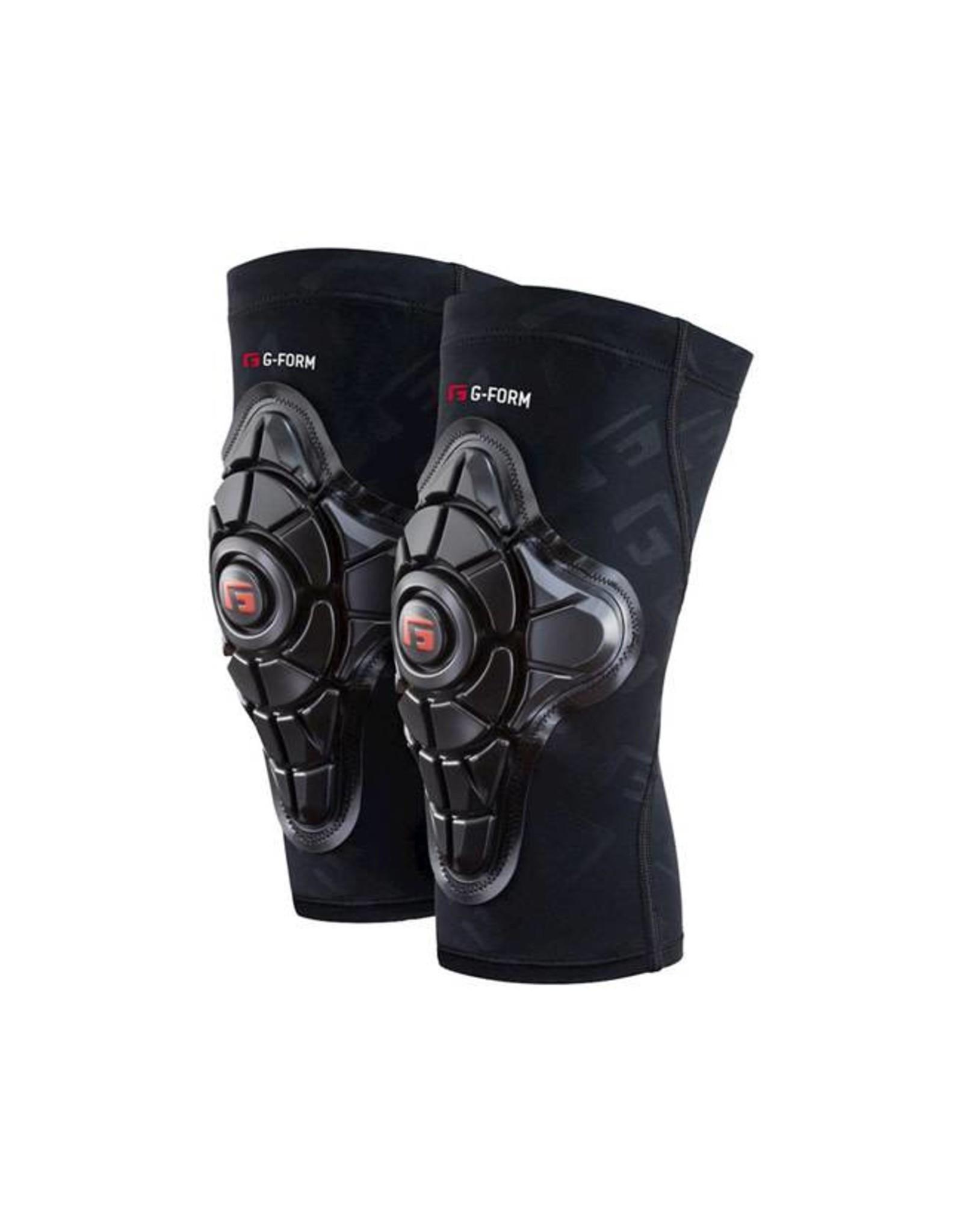 G-Form G-Form Pro-X Youth Knee Pad: Black/Embossed G, LG/XL