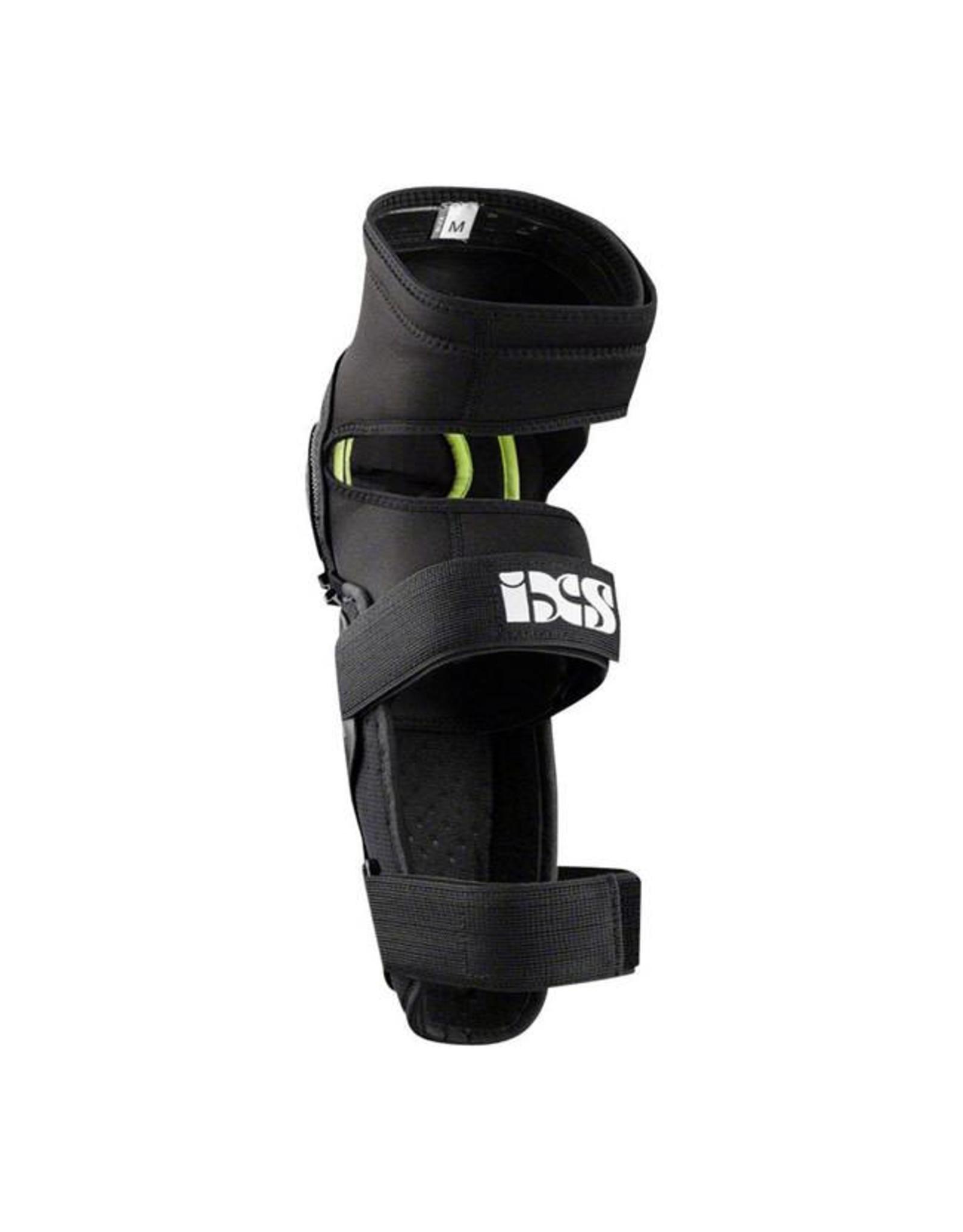 IXS iXS Mallet Knee/Shin Guard: Black, MD