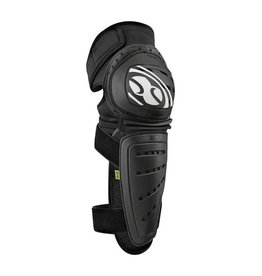 IXS iXS Mallet Knee/Shin Guard: Black, LG
