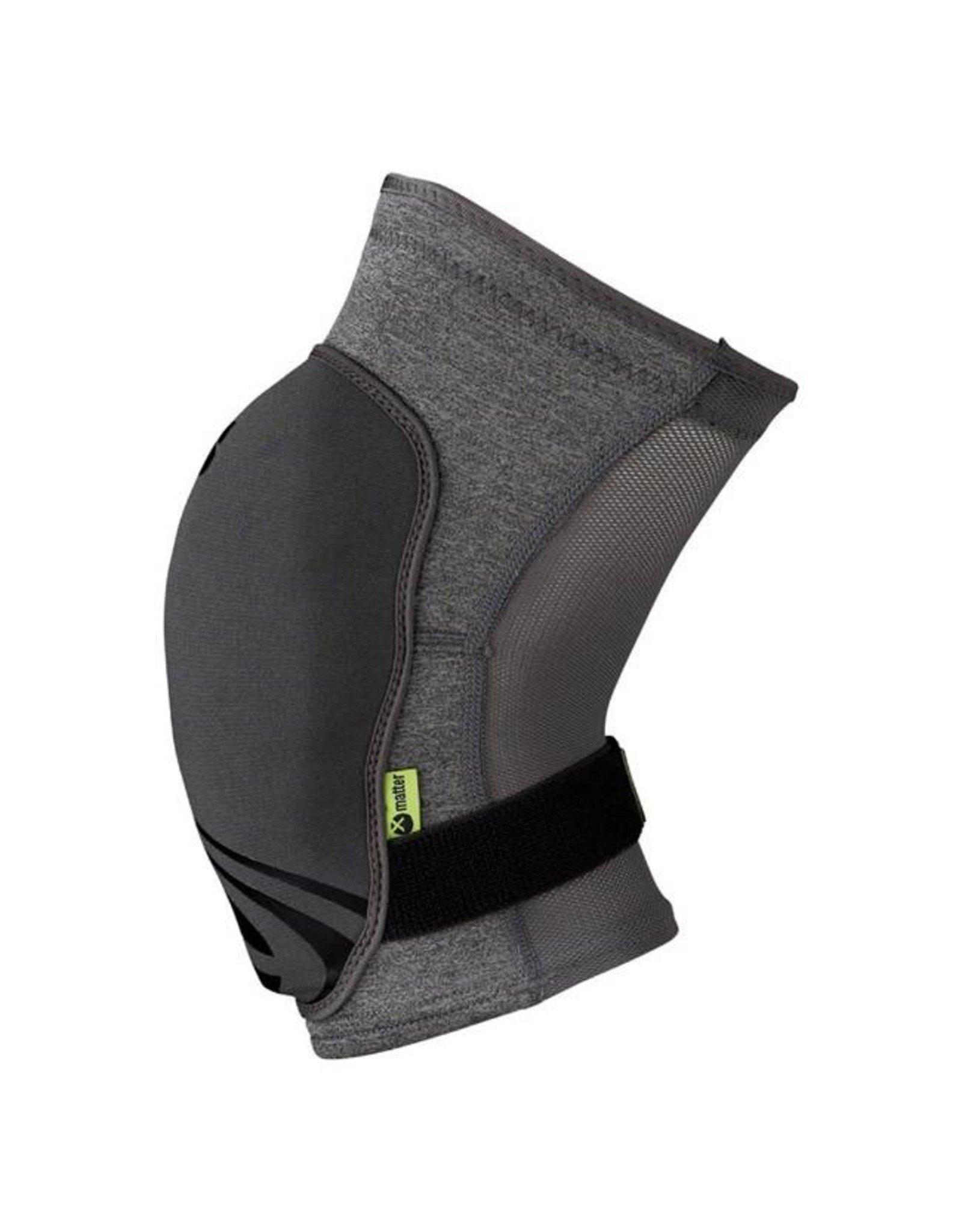 IXS iXS Flow Evo+ Knee Pads: Gray MD