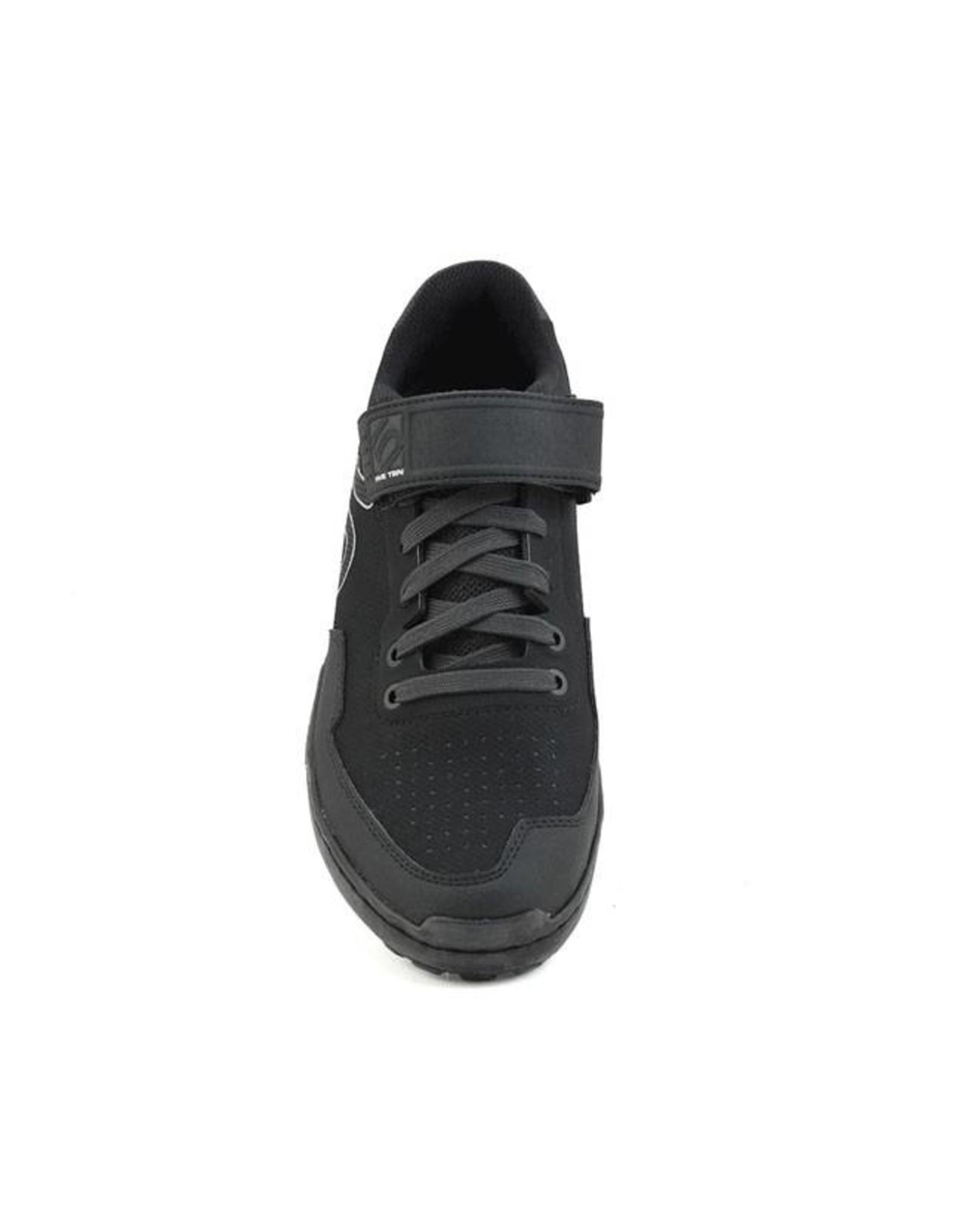 Five Ten Five Ten Kestrel Lace Men's Clipless Shoe: Black Carbon 7