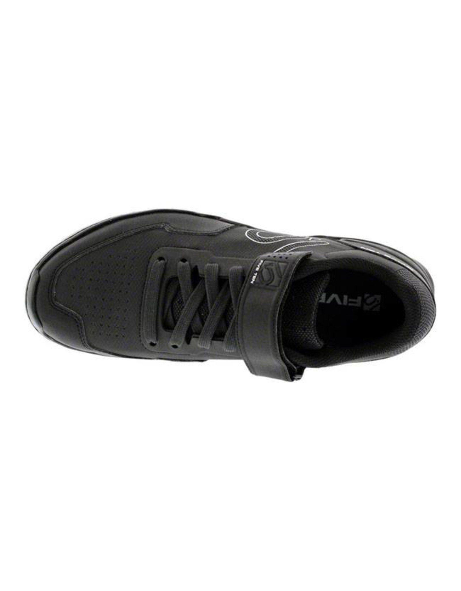 Five Ten Five Ten Kestrel Lace Men's Clipless Shoe: Black Carbon 10.5