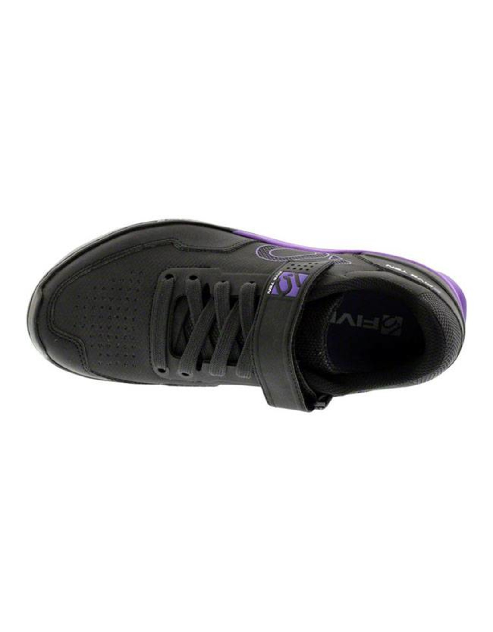 Five Ten Five Ten Kestrel Lace Women's Clipless Shoe: Black Purple 5