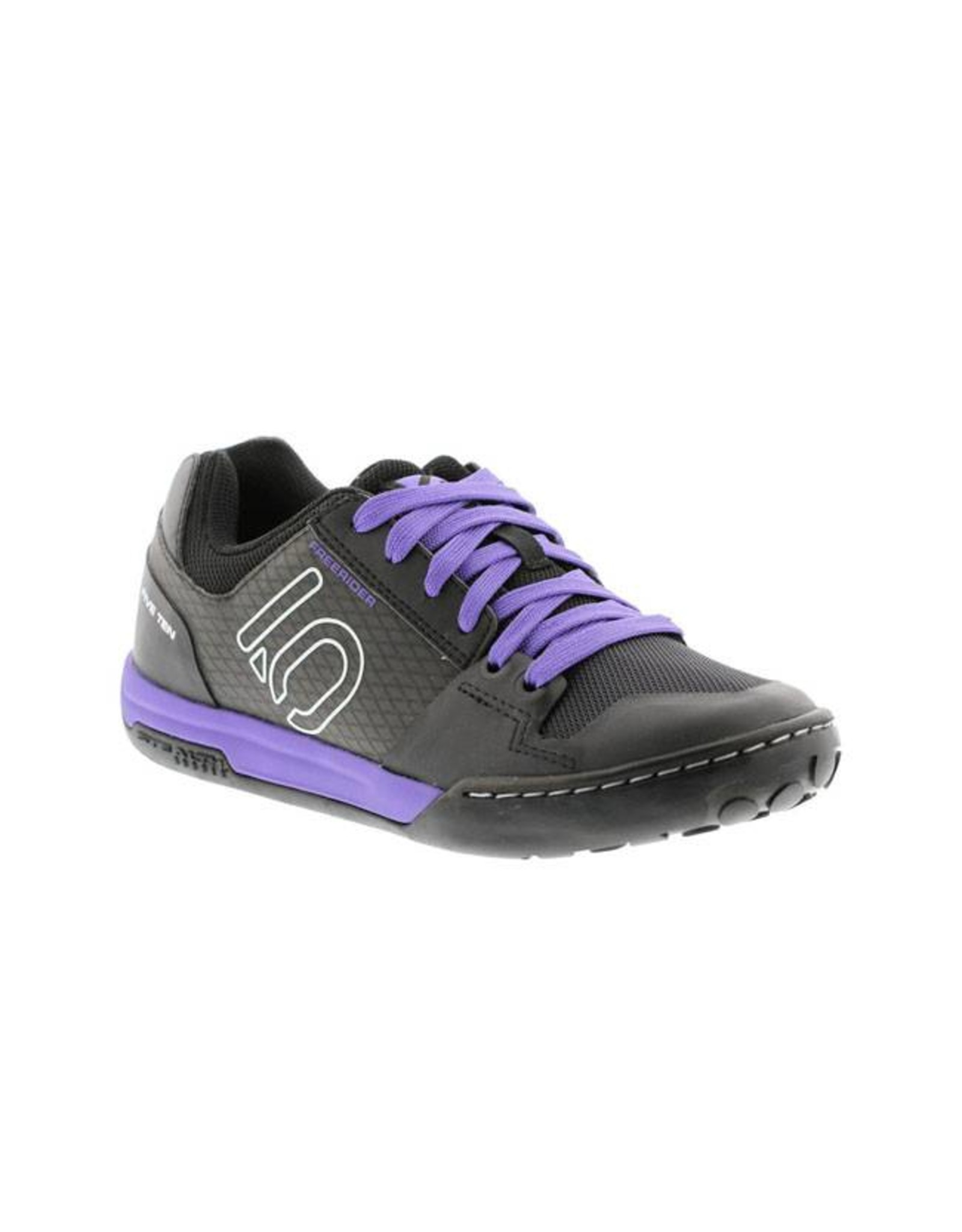Five Ten Five Ten Freerider Contact Women's Flat Pedal Shoe: Split Purple 8