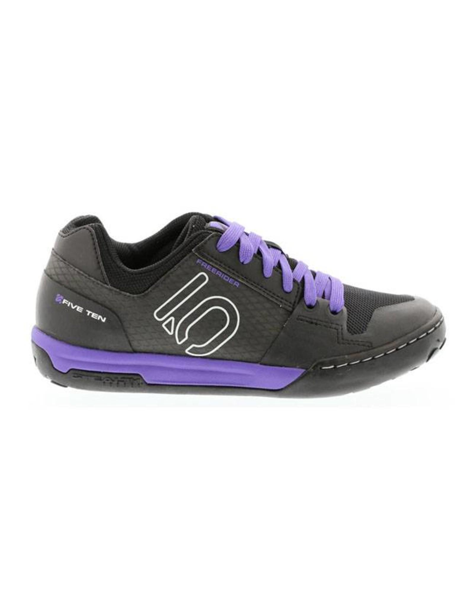Five Ten Five Ten Freerider Contact Women's Flat Pedal Shoe: Split Purple 8.5