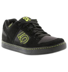 Five Ten Five Ten Freerider Men's Flat Pedal Shoe: Black Slime 11