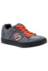 Five Ten Five Ten Freerider Men's Flat Pedal Shoe: Gray/Orange 8.5