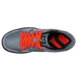 Five Ten Five Ten Freerider Men's Flat Pedal Shoe: Gray/Orange 9