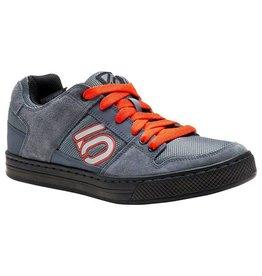 Five Ten Five Ten Freerider Men's Flat Pedal Shoe: Gray/Orange 9.5