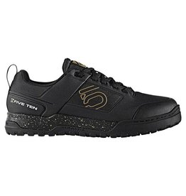 Five Ten Five Ten Impact Pro Men's Flat Pedal Shoe: Black/Gold 9.5