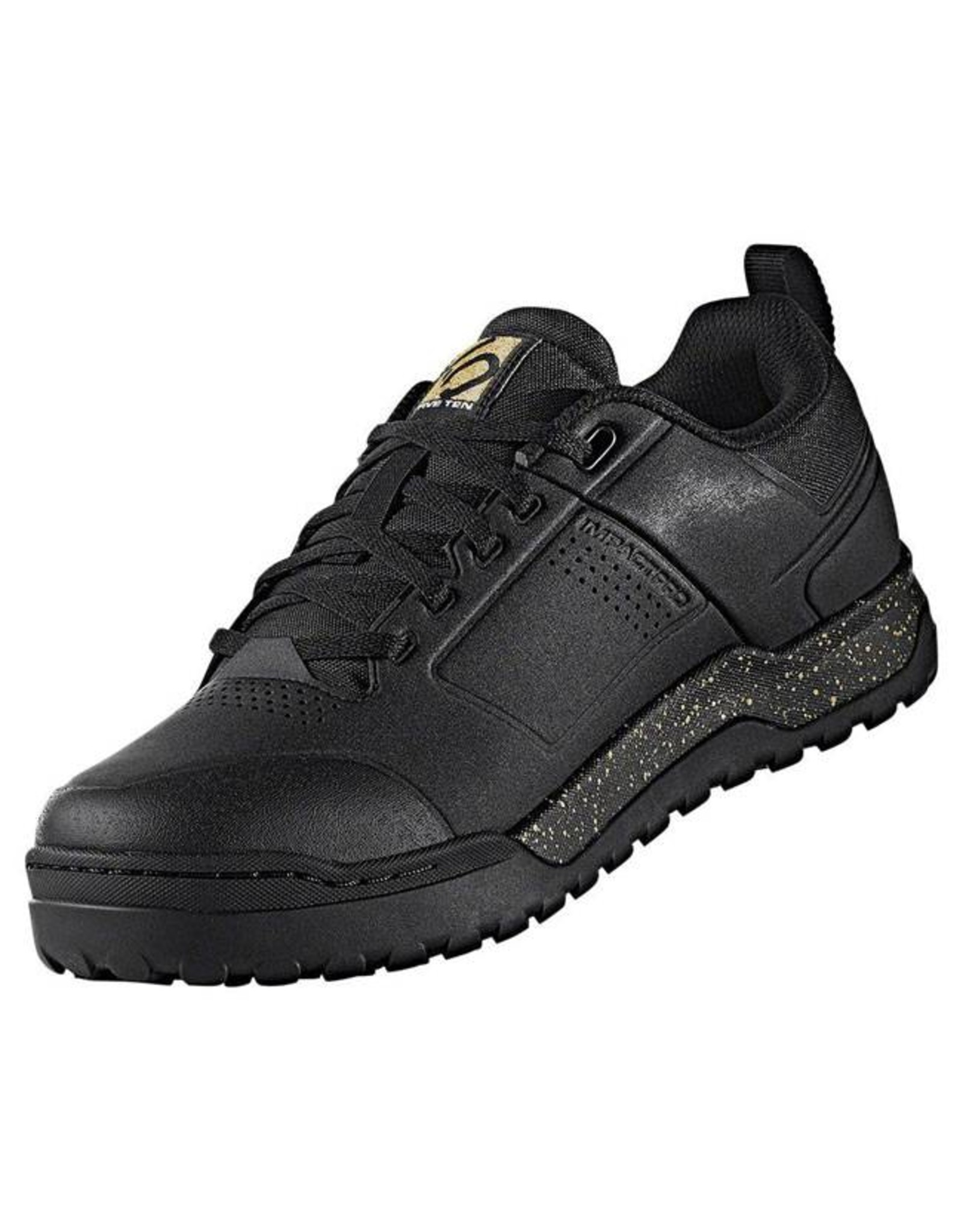 Five Ten Five Ten Impact Pro Men's Flat Pedal Shoe: Black/Gold 10.5