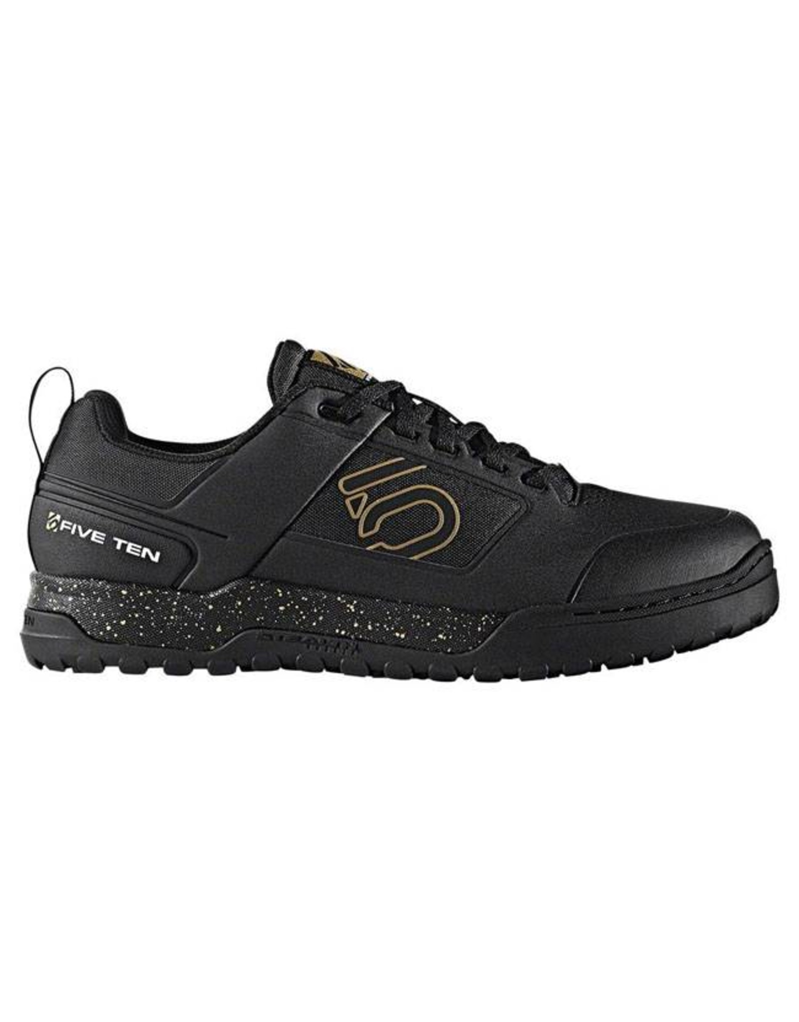 Five Ten Five Ten Impact Pro Men's Flat Pedal Shoe: Black/Gold 11.5