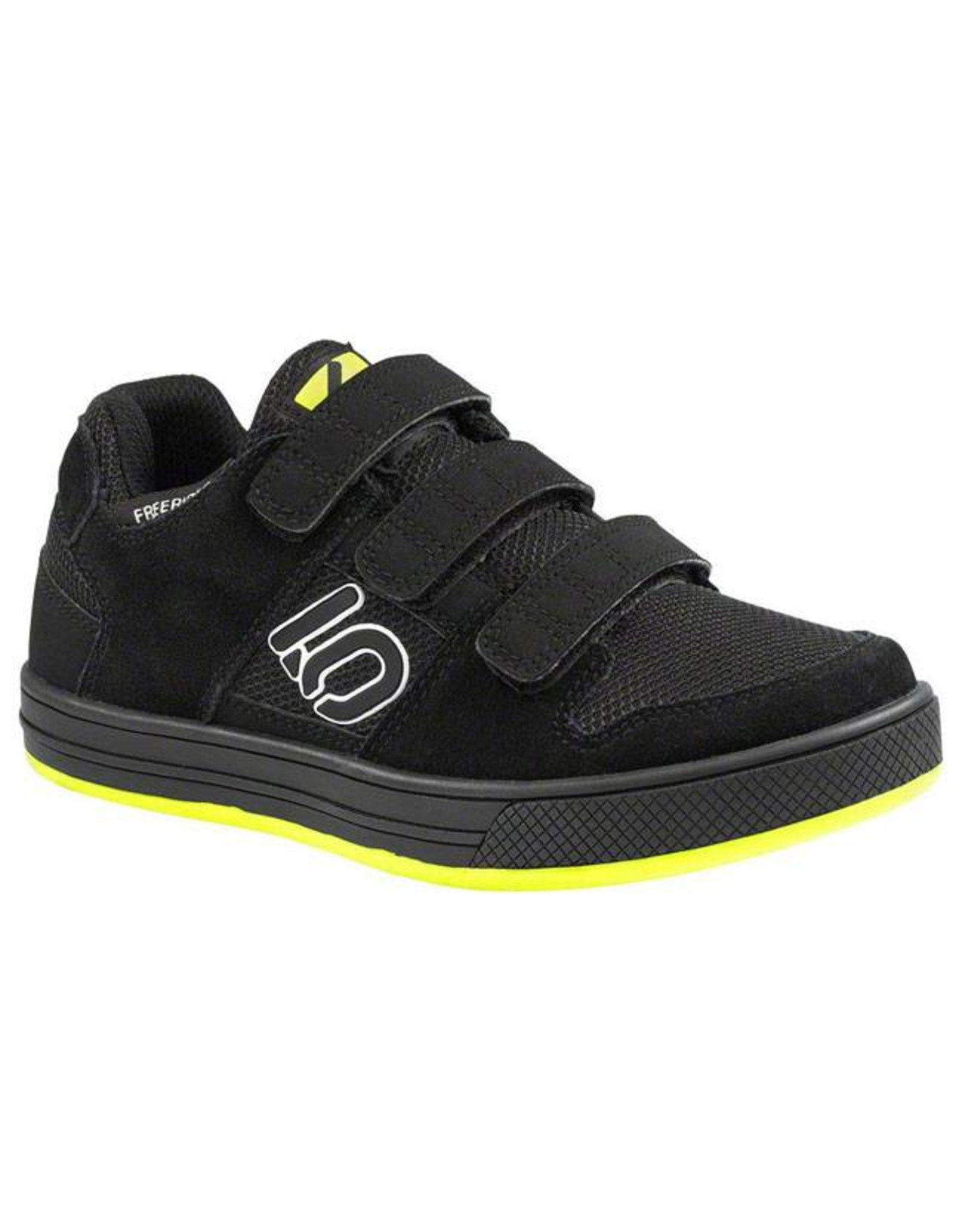 Five Ten Five Ten Freerider Kid's Flat Pedal Shoe: Black 1.5