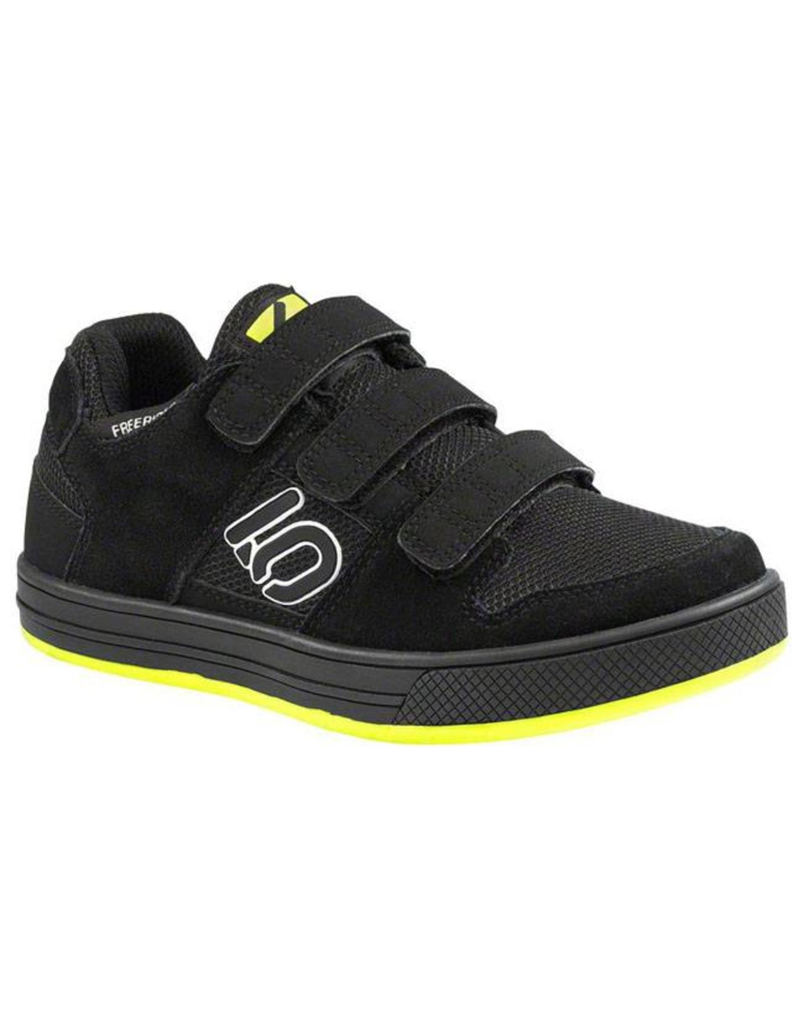 Five Ten Five Ten Freerider Kid's Flat Pedal Shoe: Black 2.5