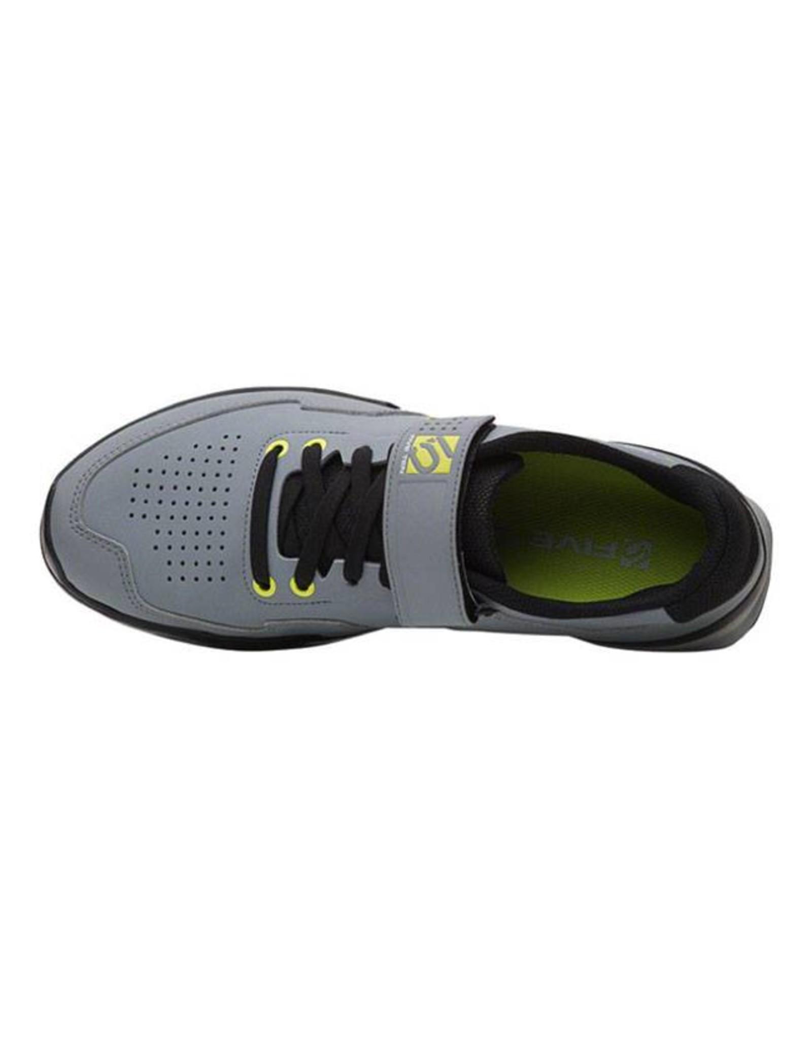 Five Ten Five Ten Kestrel Lace Men's Clipless Shoe: Onix/Yellow 8