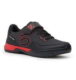 Five Ten Five Ten Kestrel Lace Men's Clipless Shoe: Black/Red 10
