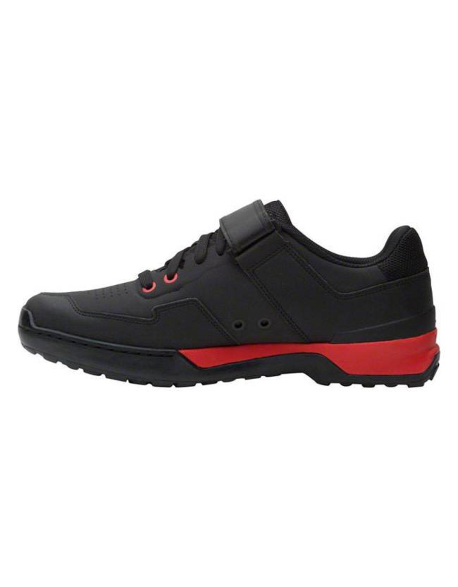 Five Ten Five Ten Kestrel Lace Men's Clipless Shoe: Black/Red 10