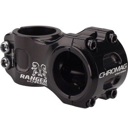 "Chromag Ranger V2 Stem: 50mm, 31.8mm Clamp, 1-1/8"", +/- 0 Degree, Black"