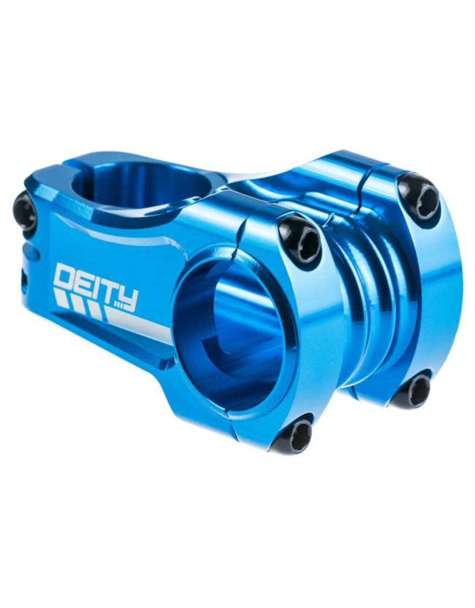 Deity Components Deity Copperhead Stem: 50mm, 31.8 Clamp, Blue