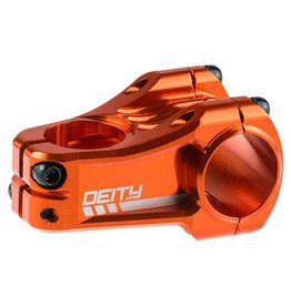 Deity Components Deity Copperhead Stem: 50mm, 31.8 Clamp, Orange