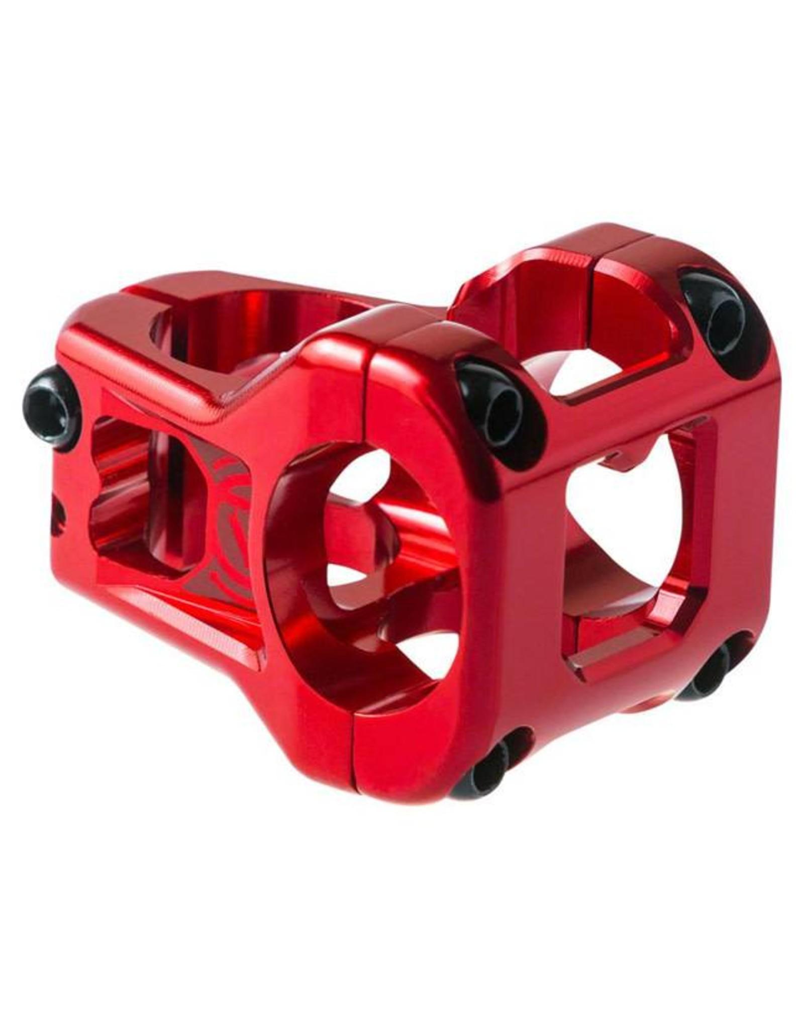 Deity Components Deity Cavity Stem: 35mm, 31.8 Clamp, Red