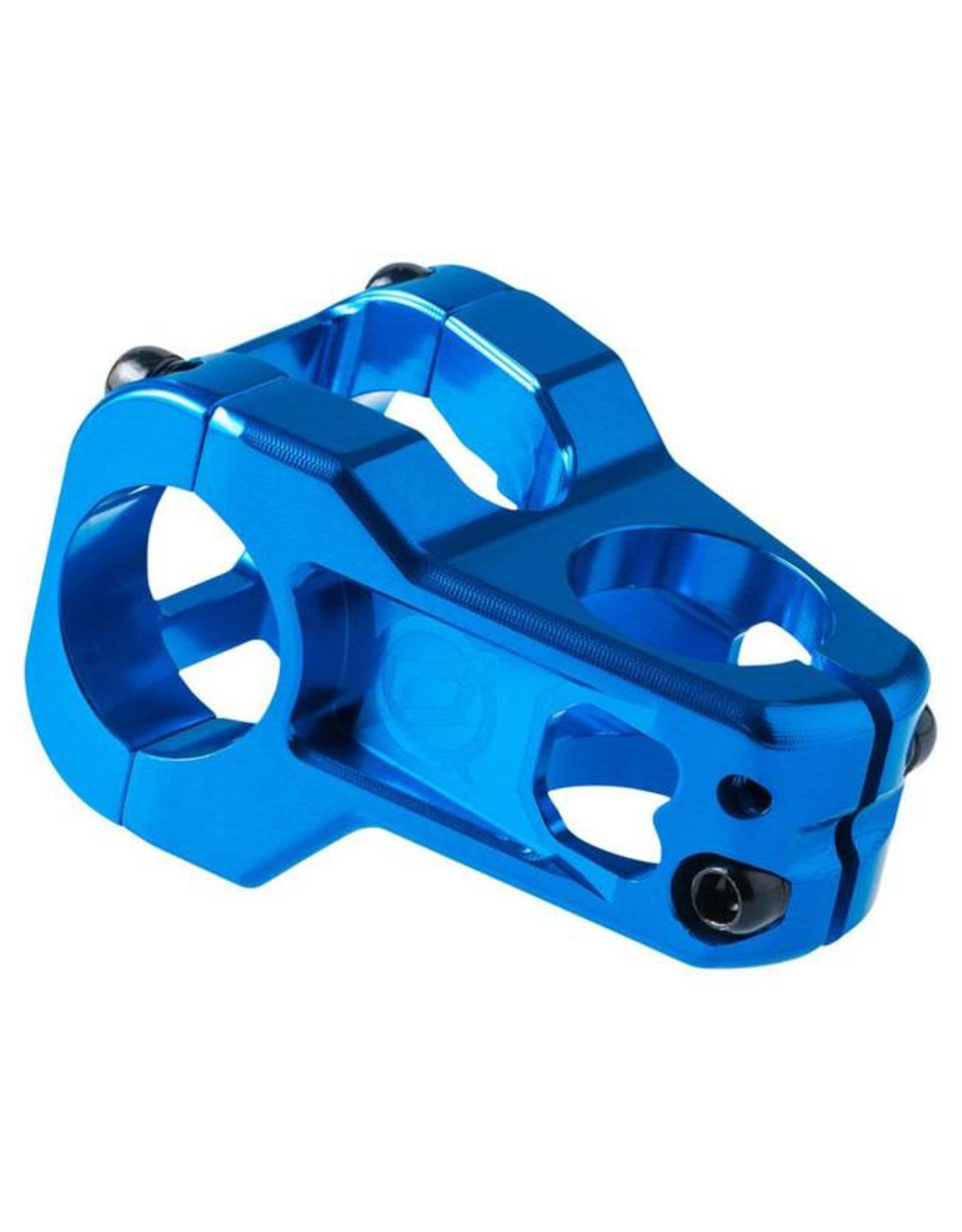 Deity Components Deity Cavity Stem: 35mm, 31.8 Clamp, Blue