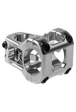 Deity Components Deity Cavity Stem: 35mm, 31.8 Clamp, Platinum Silver