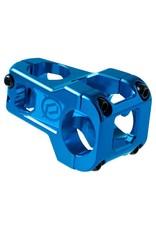 Deity Components Deity Cavity Stem: 50mm, 31.8 Clamp, Blue