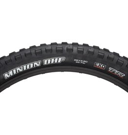 "Maxxis Maxxis Minion DHF Tire: 26 x 2.80"", Folding, 60tpi, Dual Compound, EXO, Tubeless Ready, Black"