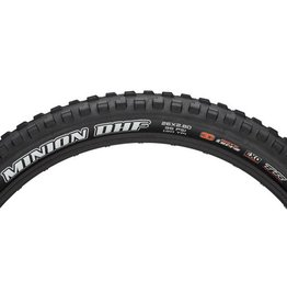 "Maxxis Maxxis Minion DHF Tire: 26 x 2.80"", Folding, 120tpi, 3C MaxxTerra, EXO, Tubeless Ready, Black"