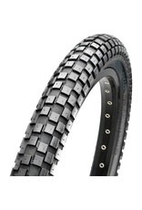 """Maxxis Maxxis Holly Roller Tire: 26 x 2.40"""", Wire, 60tpi, Single Compound, Black"""