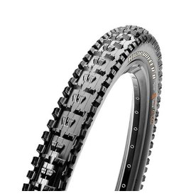 """Maxxis Maxxis High Roller II Tire: 27.5 x 2.80"""", Folding, 60tpi, Dual Compound, EXO, Tubeless Ready, Black"""