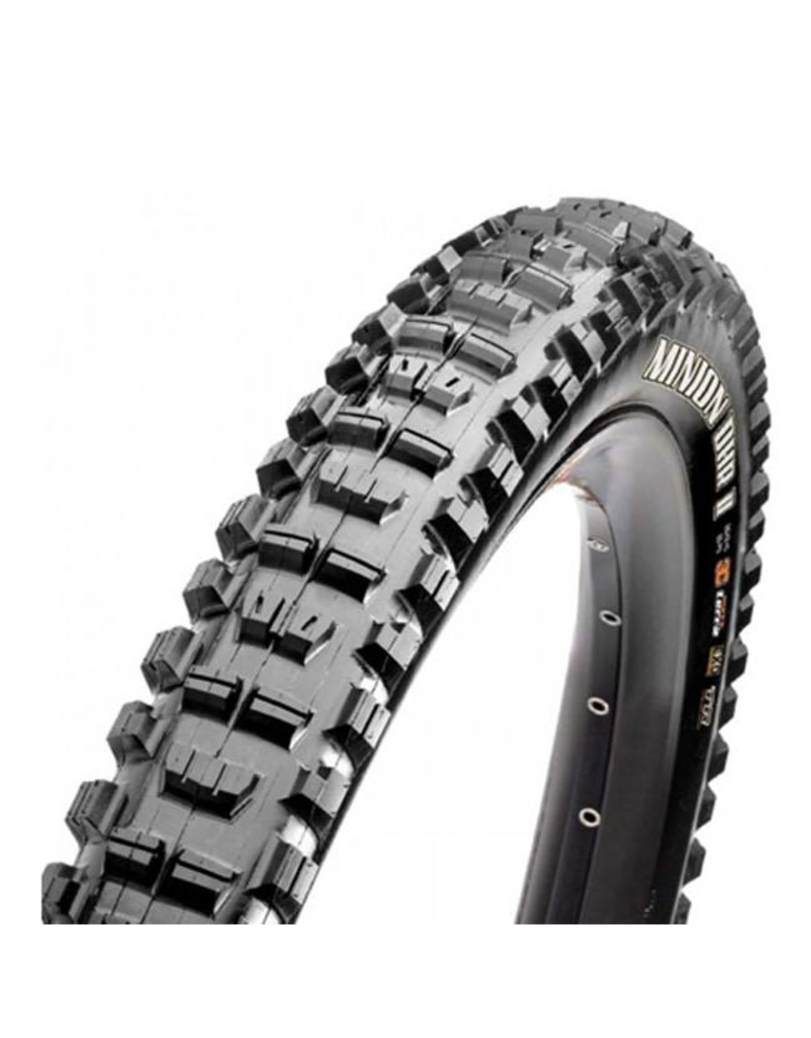 "Maxxis Maxxis Minion DHR II Tire: 27.5 x 2.80"", Folding, 120tpi, 3C MaxxTerra, EXO, Tubeless Ready, Black"