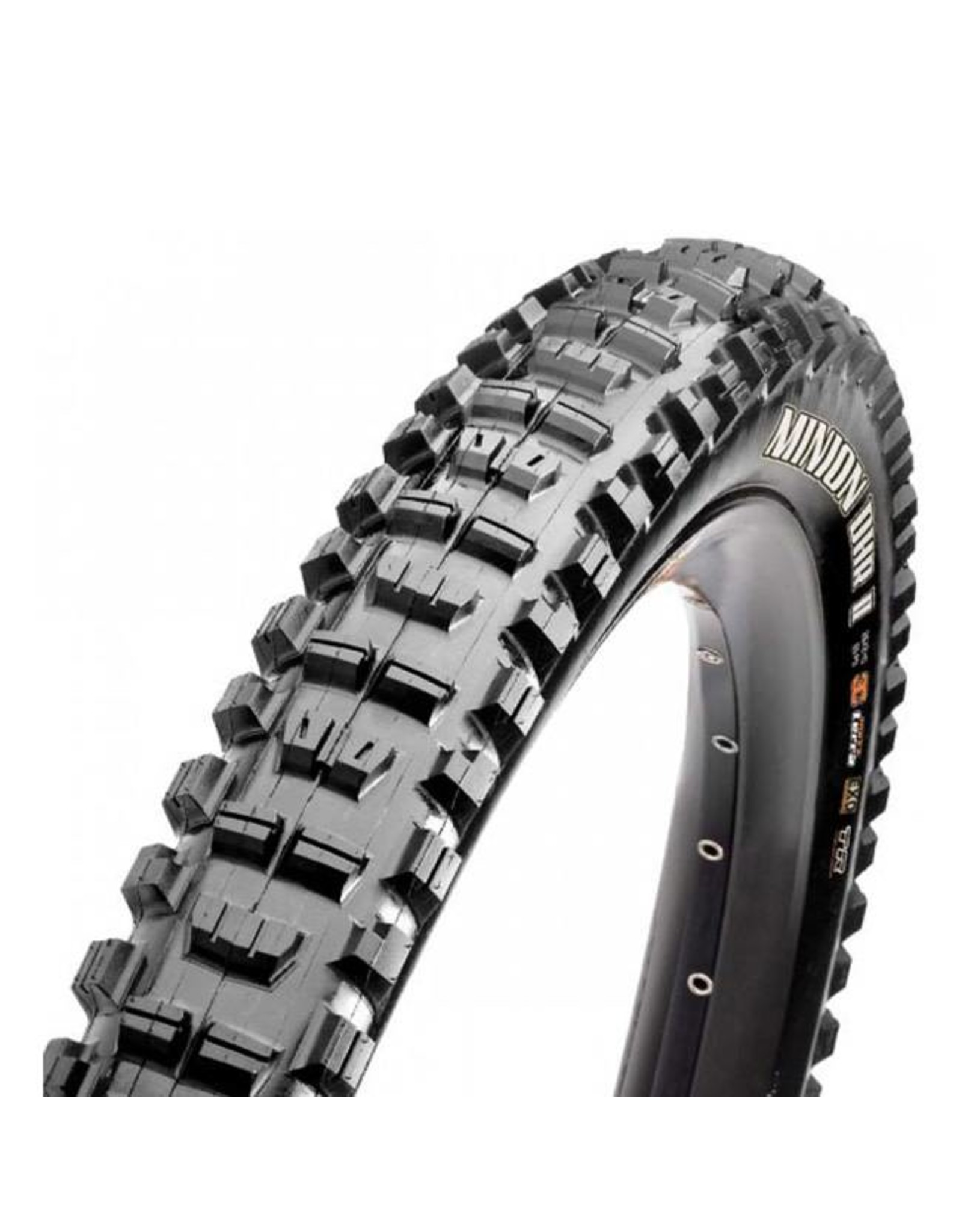 "Maxxis Maxxis Minion DHR II Tire: 29 x 3.00"", Folding, 60tpi, Dual Compound, EXO, Tubeless Ready, Black"