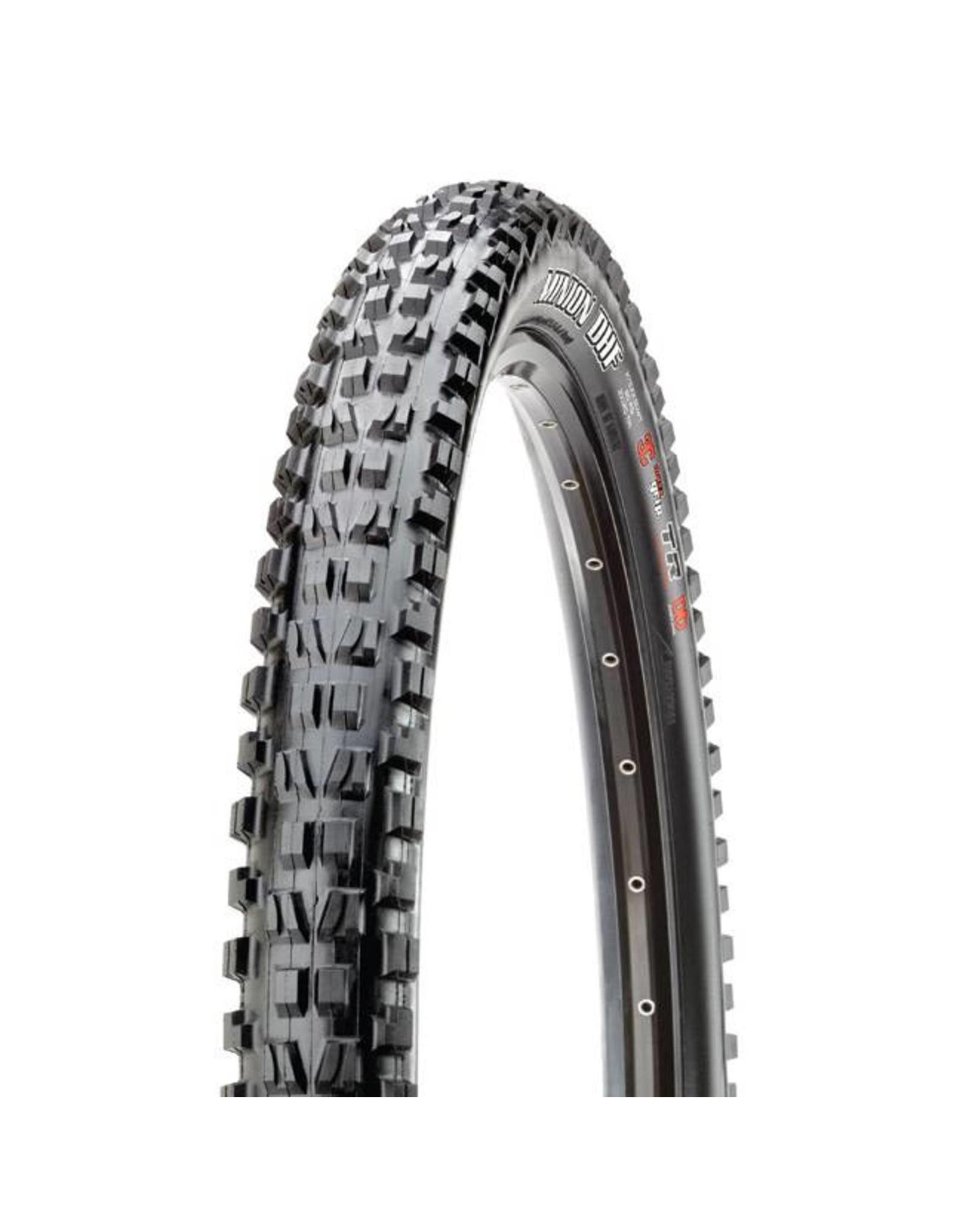 """Maxxis Maxxis Minion DHF Tire: 27.5 x 2.60"""", Folding, 120tpi, 3C, EXO, Tubeless Ready, Black"""