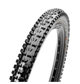 "Maxxis Maxxis High Roller II Tire: 27.5 x 3.00"", Folding, 60tpi, Dual Compound, EXO, Tubeless Ready, Black"